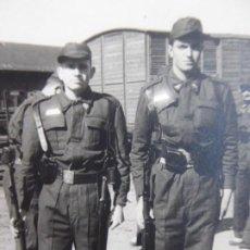Militaria: FOTOGRAFÍA SOLDADOS FERROVIARIOS DEL EJÉRCITO ESPAÑOL.. Lote 192678597