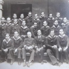Militaria: FOTOGRAFÍA MARINEROS ARMADA. BARCELONA. Lote 192744478