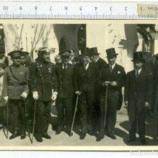 Militaria: FOTOGRAFÍA GUARDIA CIVIL DE GALA Y PERSONALIDADES. Lote 192746686