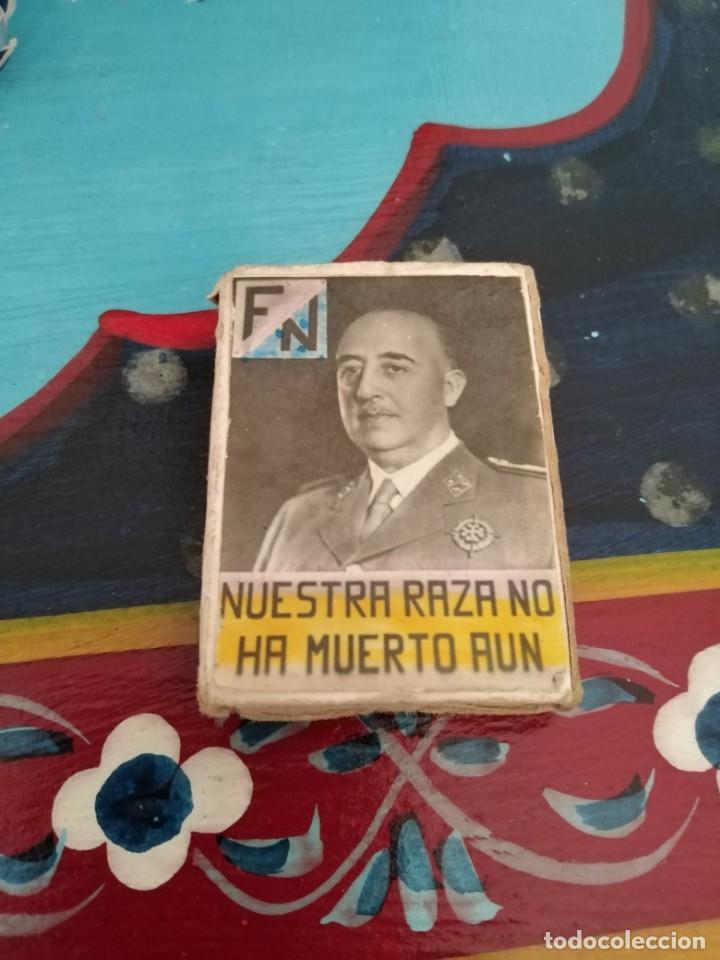Militaria: RARISIMA CAJA CERILLAS GUERRA CIVIL FRANCO Y PRIMO RIVERA - Foto 3 - 192797517