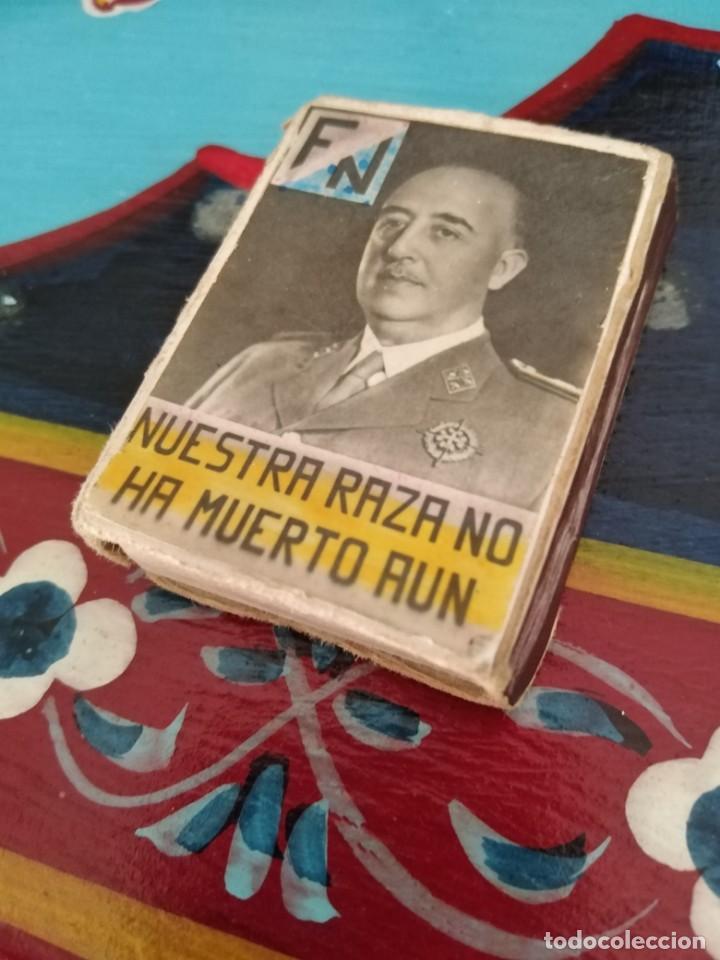 Militaria: RARISIMA CAJA CERILLAS GUERRA CIVIL FRANCO Y PRIMO RIVERA - Foto 4 - 192797517