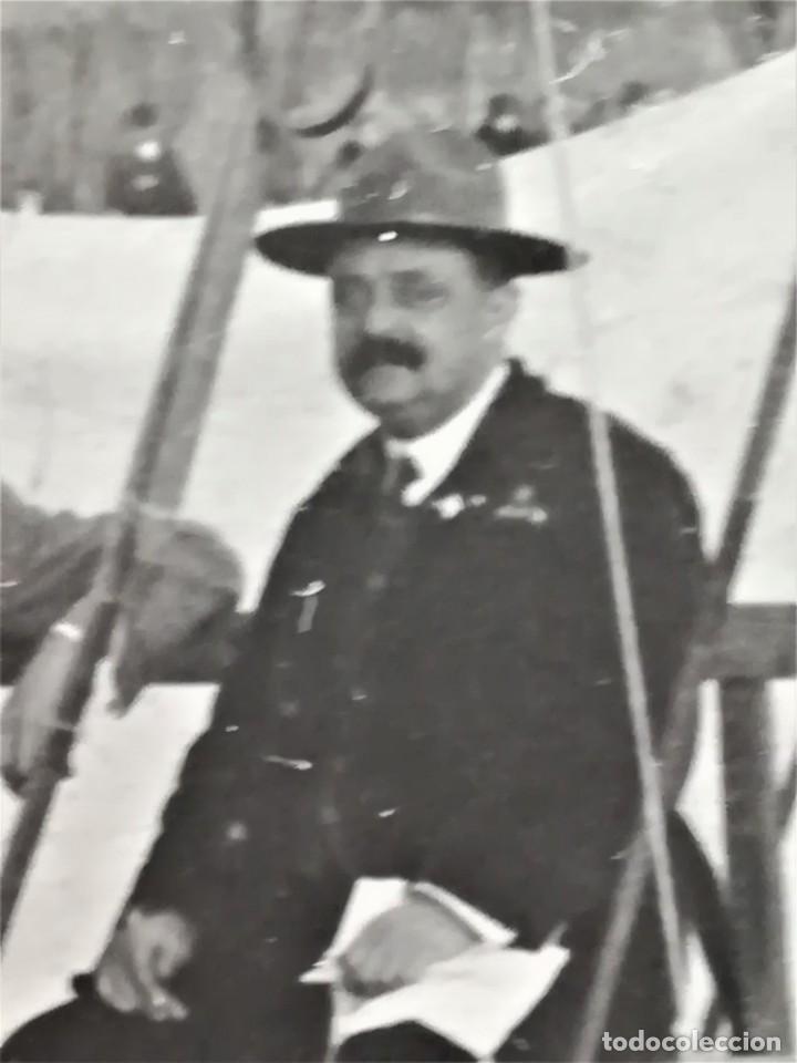 Militaria: BOY SCOUTS,EXPLORADORES DE BARCELONA,FOTOGRAFIA ORIGINAL POSIBLEMENTE BADEN POWELL,AÑO 20 CAMPAMENTO - Foto 8 - 192817231