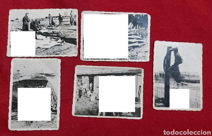 FOTOGRAFIAS ORIGINALES CAMPO DE CONCENTRACIÓN (Militar - Fotografía Militar - II Guerra Mundial)