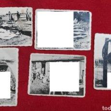 Militaria: FOTOGRAFIAS ORIGINALES CAMPO DE CONCENTRACIÓN. Lote 192928278