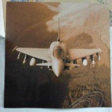 Militaria: LAMINA AVION MILITAR 38X38CM 100GR. Lote 193026263