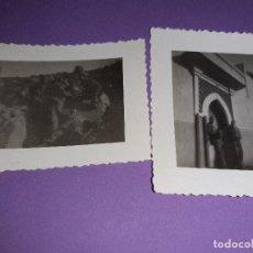 Militaria: LOTE DOS FOTOS MILITARES PEQUEÑAS CASA MARTINEZ SIDI IFNI. Lote 193033855