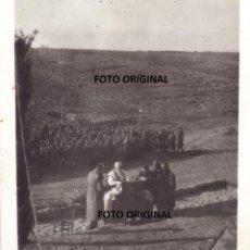 Militaria: MISA DE CAMPAÑA FRENTE ARAGON CTV ITALIANO 1937 GUERRA CIVIL. Lote 193205112