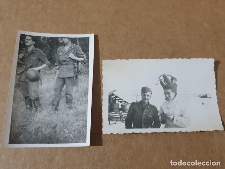 LOTE FOTOS DIVISION AZUL (Militar - Fotografía Militar - II Guerra Mundial)