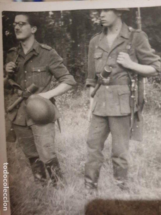 Militaria: Lote fotos division azul - Foto 2 - 193751477