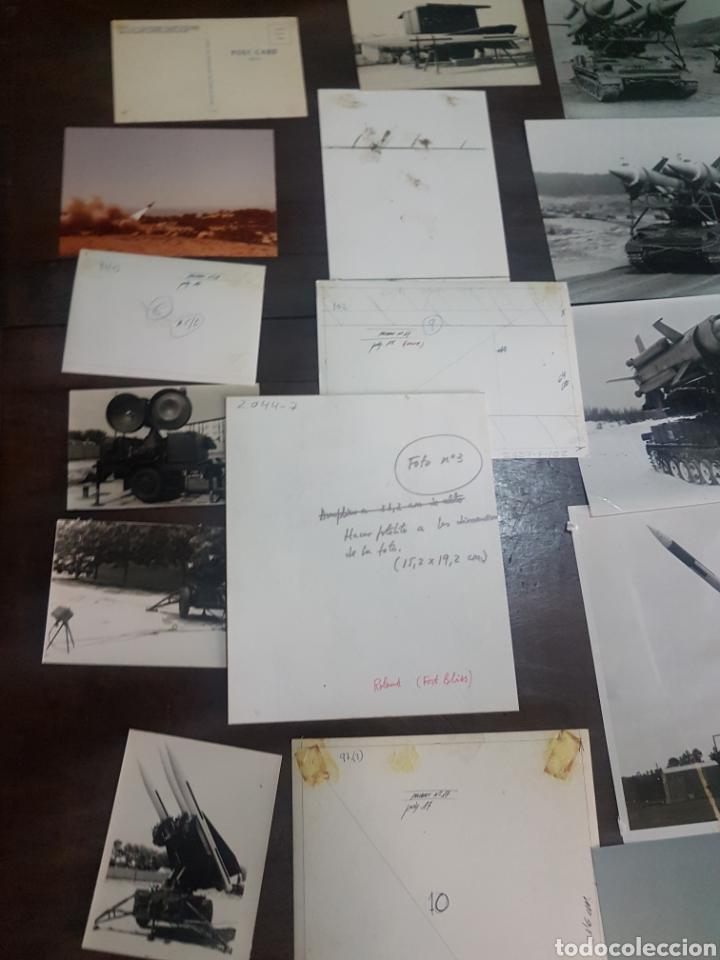 Militaria: Lote 21 fotografías militares años 70/80. Fort Bliss - Foto 2 - 193916637