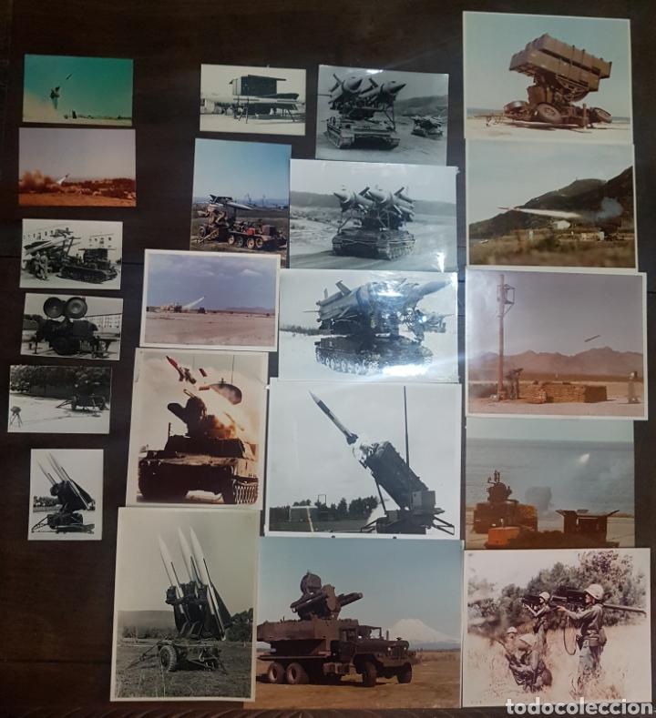 LOTE 21 FOTOGRAFÍAS MILITARES AÑOS 70/80. FORT BLISS (Militar - Fotografía Militar - Otros)