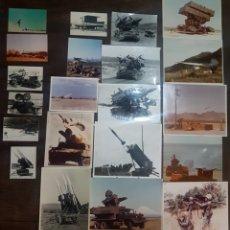 Militaria: LOTE 21 FOTOGRAFÍAS MILITARES AÑOS 70/80. FORT BLISS. Lote 193916637