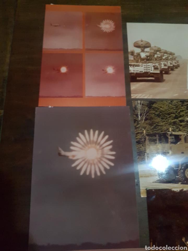 Militaria: Lote 20 fotografías militares años 70/80 Empresa Euromissile - Foto 3 - 193916976
