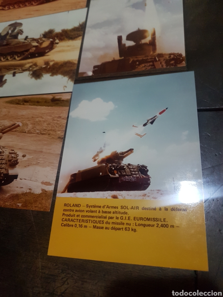 Militaria: Lote 20 fotografías militares años 70/80 Empresa Euromissile - Foto 5 - 193916976
