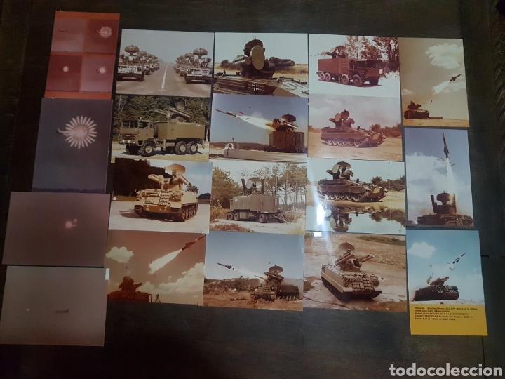 LOTE 20 FOTOGRAFÍAS MILITARES AÑOS 70/80 EMPRESA EUROMISSILE (Militar - Fotografía Militar - Otros)
