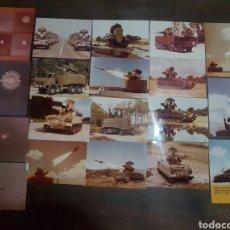 Militaria: LOTE 20 FOTOGRAFÍAS MILITARES AÑOS 70/80 EMPRESA EUROMISSILE. Lote 193916976