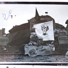 Militaria: CERRO DE LOS ANGELES, RECONQUISTA DEL MONUMENTO DESTRUIDO POR LOS ROJOS. 1936. Lote 193997953