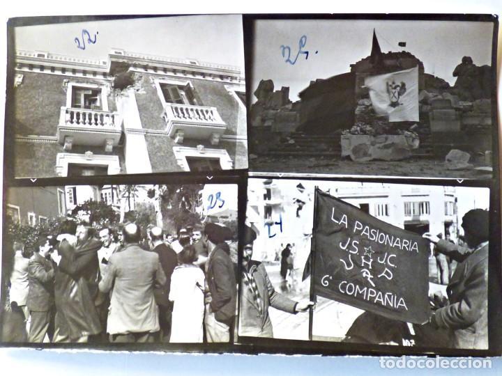 Militaria: BANDERA REGIMIENTO PASIONARIA. 6ª COMPAÑÍA. JUVENT SOCIALISTAS Y UNIÓN DE HERMANOS PROLETARIOS 1936 - Foto 2 - 194062230