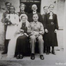 Militaria: BODA BAVARA DE SUBOFICIALDE LA WEHRMACHT PROCEDENTE FRENTE ORIENTAL. AÑOS 1941-45. Lote 194067463