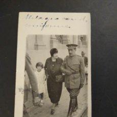 Militaria: FOTOGRAFÍA MILITAR CON UNIFORME. NO FIGURA FOTÓGRAFO.. Lote 194073018