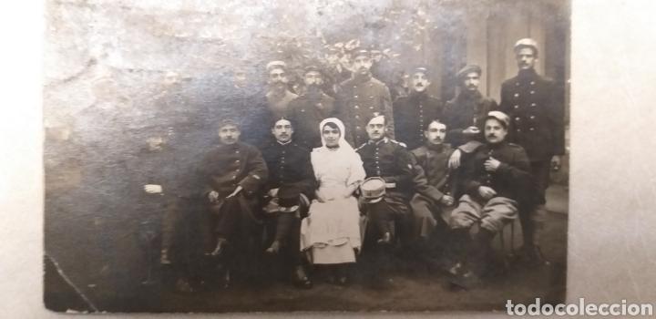 FOTO TARJETA POSTAL PRIMERA GUERRA MUNDIAL 1915 (Militar - Fotografía Militar - I Guerra Mundial)