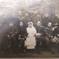 Militaria: FOTO TARJETA POSTAL PRIMERA GUERRA MUNDIAL 1915. Lote 194081890