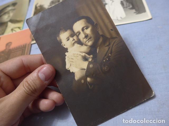Militaria: * Lote 6 fotografias de regulares de misma familia. ZX - Foto 2 - 194094067