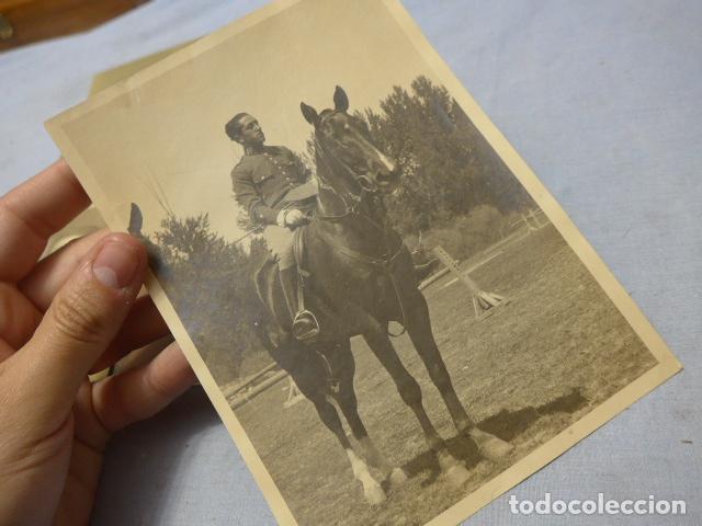 Militaria: * Lote 6 fotografias de regulares de misma familia. ZX - Foto 8 - 194094067
