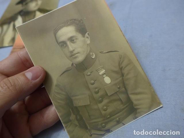 Militaria: * Lote 6 fotografias de regulares de misma familia. ZX - Foto 11 - 194094067