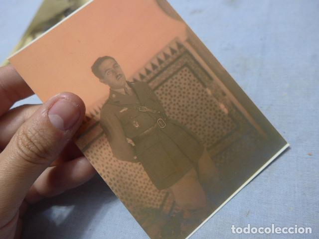 Militaria: * Lote 6 fotografias de regulares de misma familia. ZX - Foto 14 - 194094067