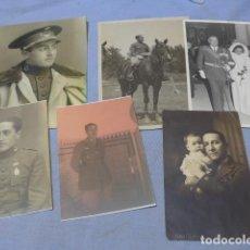 Militaria: * LOTE 6 FOTOGRAFIAS DE REGULARES DE MISMA FAMILIA. ZX. Lote 194094067