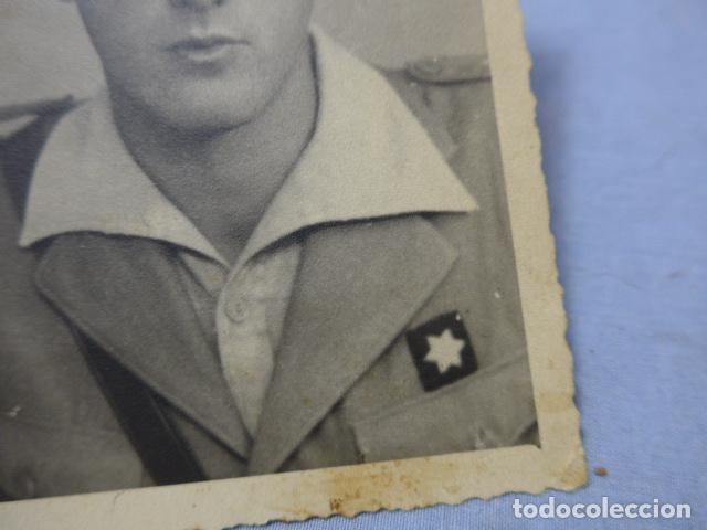 Militaria: * Antigua fotografia de militar alferez provisional de guerra civil. ZX - Foto 2 - 194094225