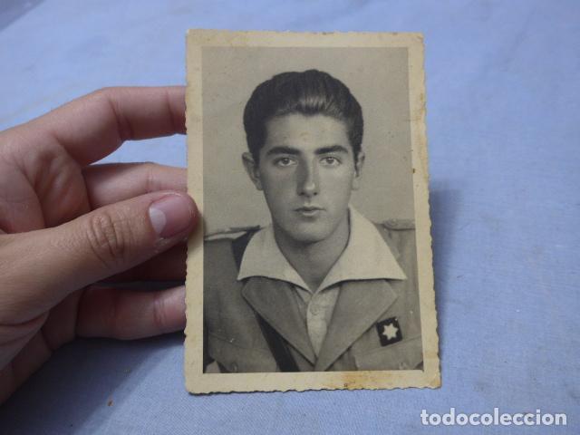 * ANTIGUA FOTOGRAFIA DE MILITAR ALFEREZ PROVISIONAL DE GUERRA CIVIL. ZX (Militar - Fotografía Militar - Guerra Civil Española)