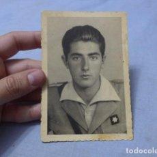 Militaria: * ANTIGUA FOTOGRAFIA DE MILITAR ALFEREZ PROVISIONAL DE GUERRA CIVIL. ZX. Lote 194094225