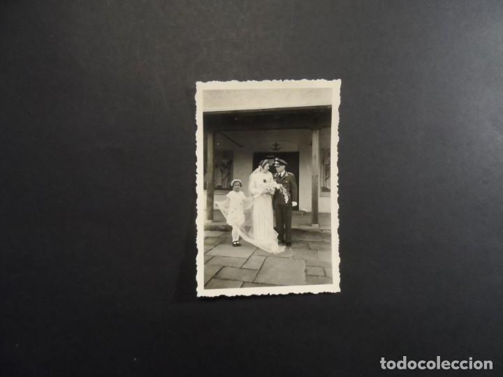 Militaria: SUBOFICIAL DE LA LUTWAFFE EN SU BODA. III REICH . AÑOS 1939-45 - Foto 2 - 194144238