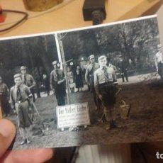 Militaria: JUVENTUDES HITLERIANAS FOTO REVELADA DE NEGATIVO ORIGINAL. Lote 194224278
