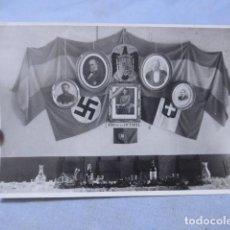 Militaria: * ANTIGUA FOTOGRAFIA DE 1939 DE ALIADOS DE FRANCO DE GUERRA CIVIL, SELLADA BARCELONA. ZX. Lote 194237471