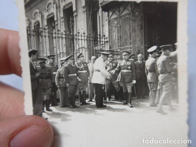 Militaria: * Antigua fotografia militar y policia armada de alto rango, años 40, original. ZX - Foto 2 - 194238180