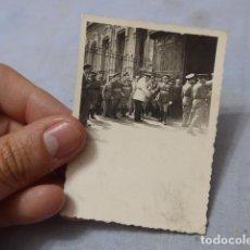 Militaria: * ANTIGUA FOTOGRAFIA MILITAR Y POLICIA ARMADA DE ALTO RANGO, AÑOS 40, ORIGINAL. ZX. Lote 194238180
