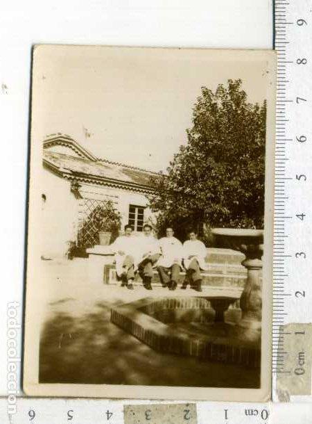 Militaria: LOTE DE CUATRO FOTOGRAFÍAS MILIARES EN EL HOSPITAL - Foto 4 - 194239416