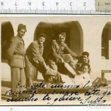 Militaria: LOTE DE CUATRO FOTOGRAFÍAS MILIARES EN EL HOSPITAL. Lote 194239416