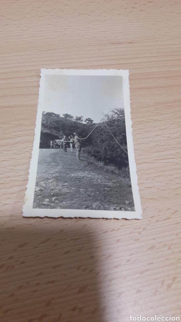FOTO DE SOLDADOS DE TRANSMISIONES AÑOS 40 (Militar - Fotografía Militar - Otros)
