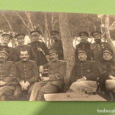 Militaria: FOTO ORIGINAL MILITARES ESPAÑOLES. OFICIALES. GUERRA DE ÁFRICA. AÑOS 1920.. Lote 194244813