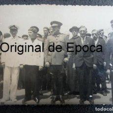 Militaria: (JX-200287)FOTOGRAFIA ,GENERAL LAUREADO, JERARCA DE FALANGE , REQUETES , GUERRA CIVIL .. Lote 194312742
