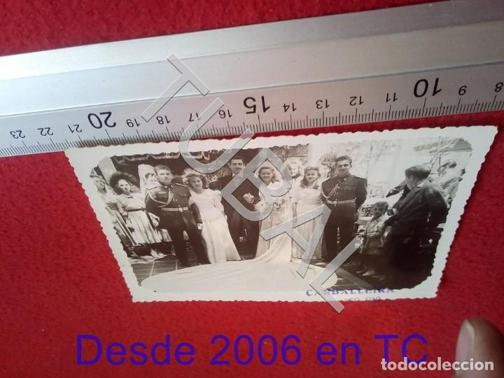 TUBAL 1948 SALAMANCA BODA MILITARES AVIACION CARBALLEIRA FOTOGRAFIA 100% ORIGINAL B47 (Militar - Fotografía Militar - Guerra Civil Española)