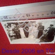 Militaria: TUBAL 1948 SALAMANCA BODA MILITARES AVIACION CARBALLEIRA FOTOGRAFIA 100% ORIGINAL B47. Lote 194505975