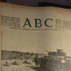 Militaria: ABC 8 DE OCTUBRE DE 1942.GUERRA MUNDIAL.. Lote 194512546