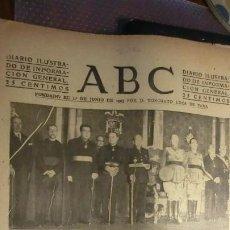 Militaria: ABC 2 DE OCTUBRE DE 1942.GUERRA MUNDIAL.. Lote 194513200