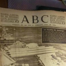 Militaria: ABC 9 DE OCTUBRE DE 1942.GUERRA MUNDIAL.. Lote 194515370