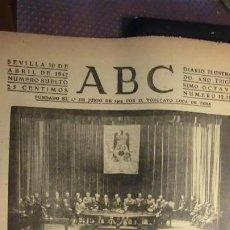 Militaria: ABC 30 DE ABRIL DE 1942.GUERRA MUNDIAL.. Lote 194519855